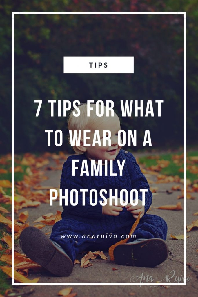 7 tips for what to wear on a family photoshoot