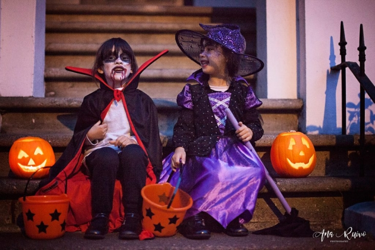 Halloween London Family Photography - Ana Ruivo