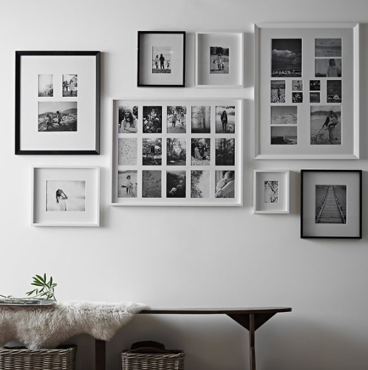 Gallery Walls Framed pictures London Family Photography