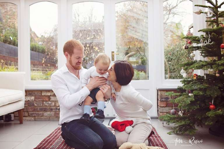 London Christmas Family Photoshoot Ana Ruivo Photography