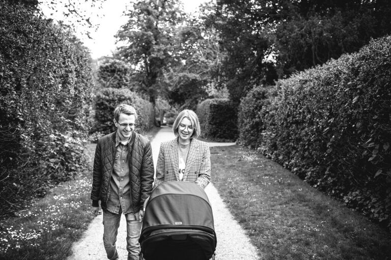 Baby Photography In Chiswick House And Gardens